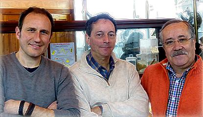 Emiliano Bruner, Pablo Barbadillo, Emilio Serrano